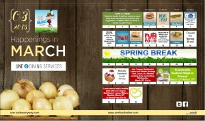 March Dining